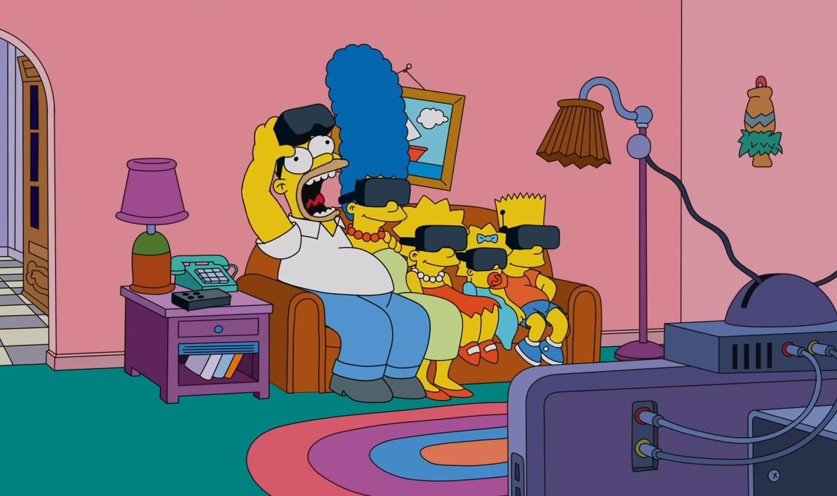 VR-Couch-Gag mit den Simpsons
