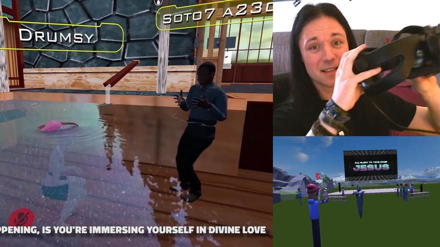 Grosser Zulauf in Gottesdiensten der Virtual Reality
