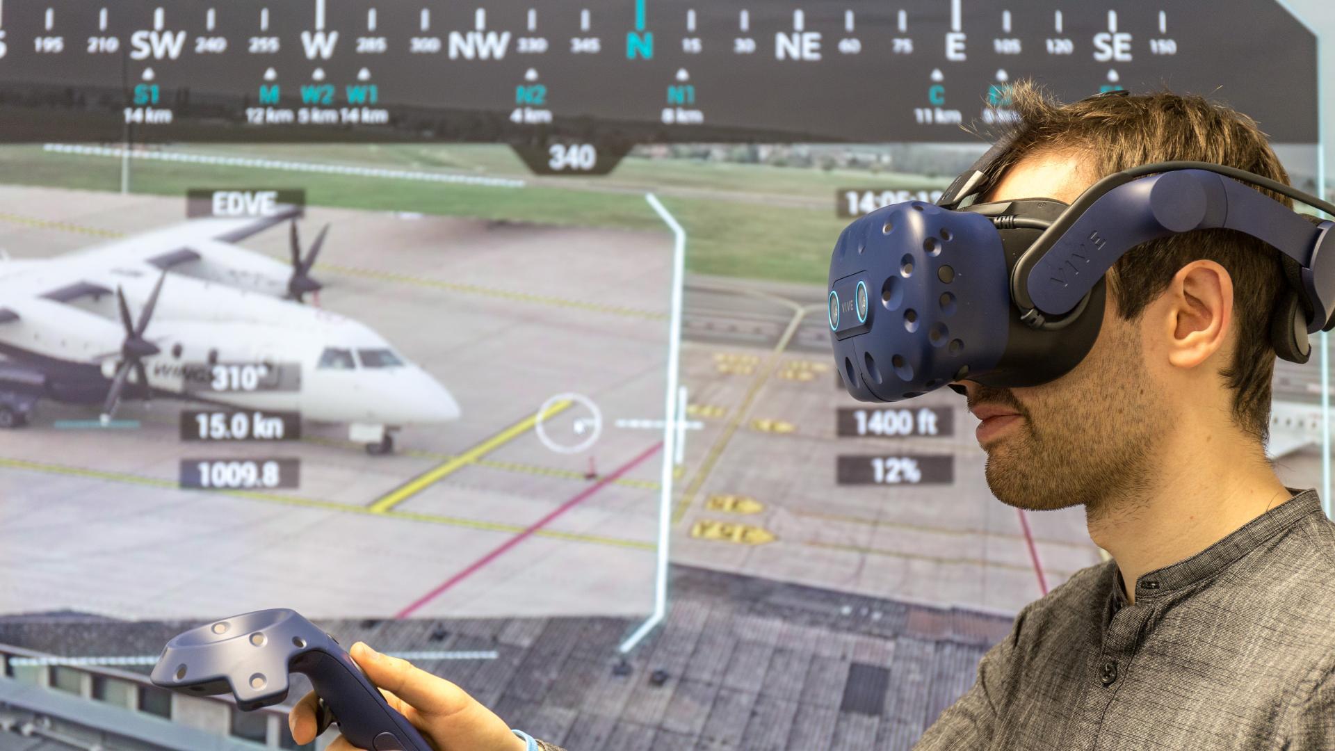 Kleine Flugplätze durch Virtual Reality unterstützen