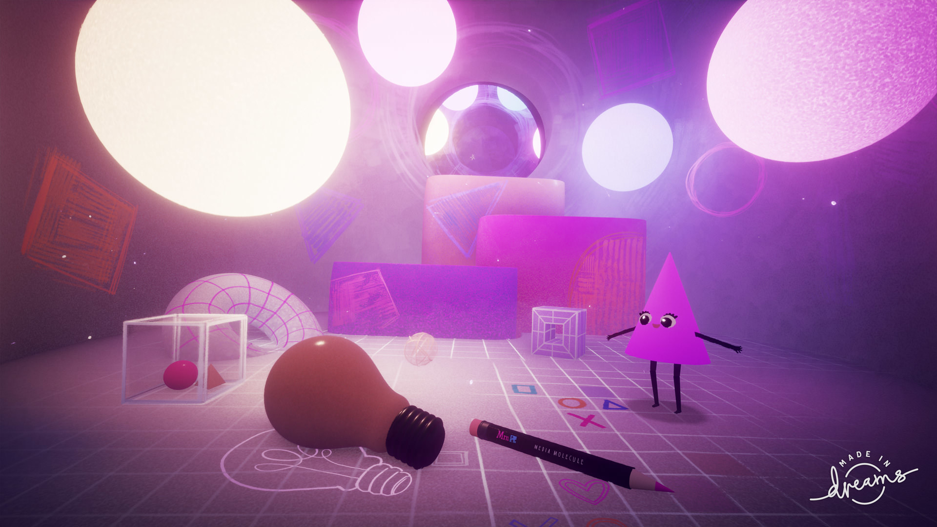 VR-Features von Dreams werden getestet