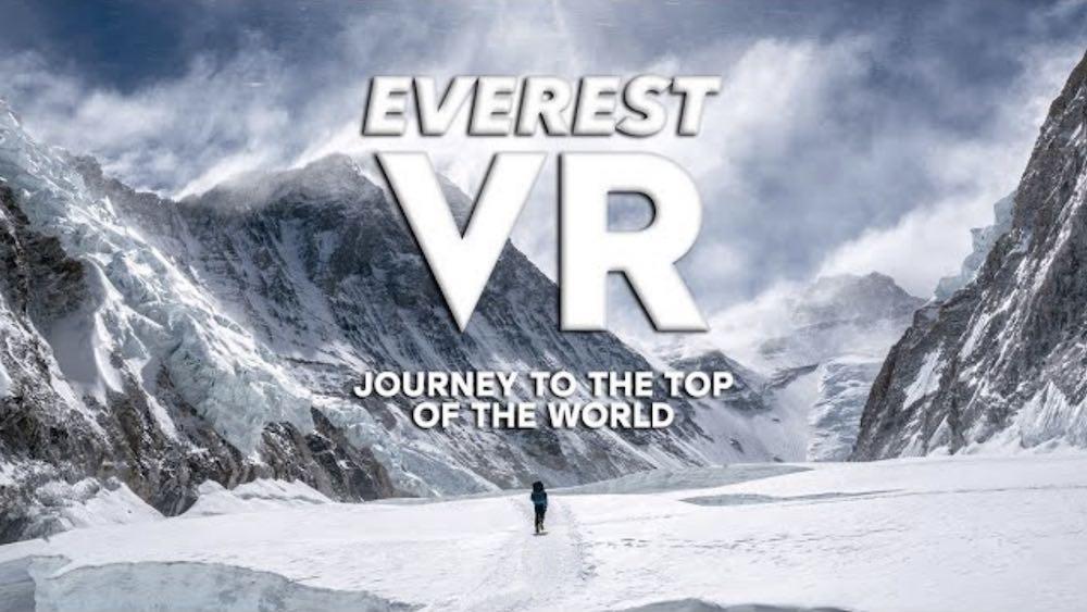 Everest VR: Atemberaubender VR-Film zeigt Extrembergsteiger
