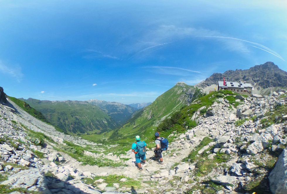 Grenzgänger-Weg: Bad Hindelanger Tourismus bietet virtuelles Wandern an