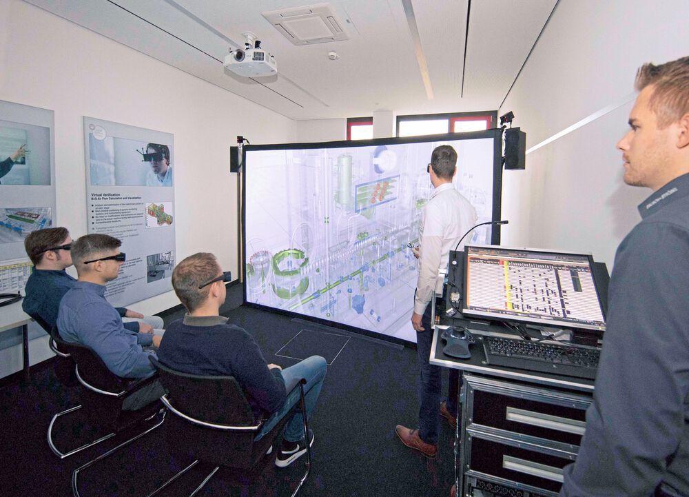 Mit Virtual Reality das Ersatzteillager aufräumen