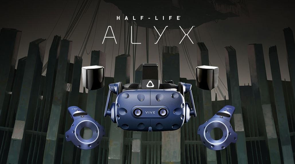 HTC Vive Pro Full Kit wird mit Half-Life: Alyx ausgeliefert