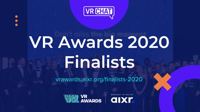 Nominierungen für VR Awards 2020