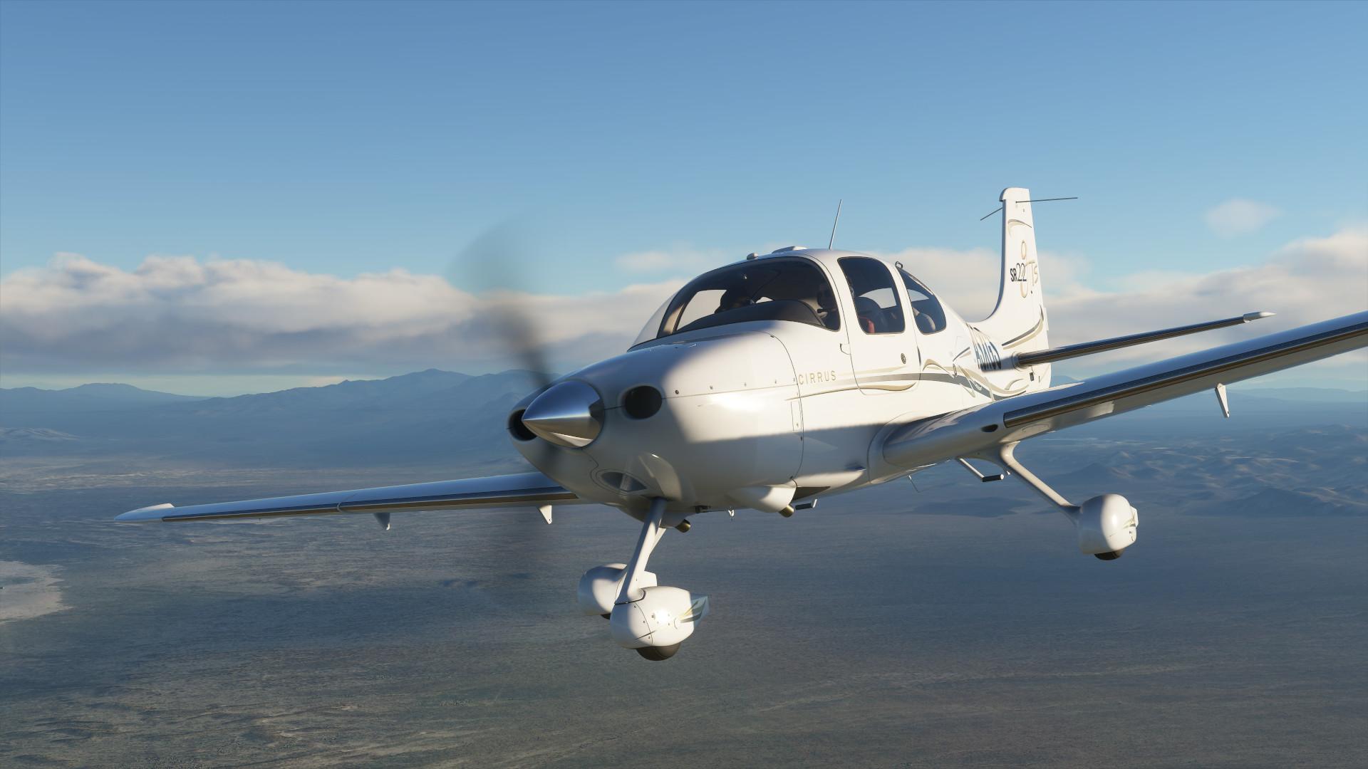 Microsoft Flight Simulator unterstützt das HP Reverb G2