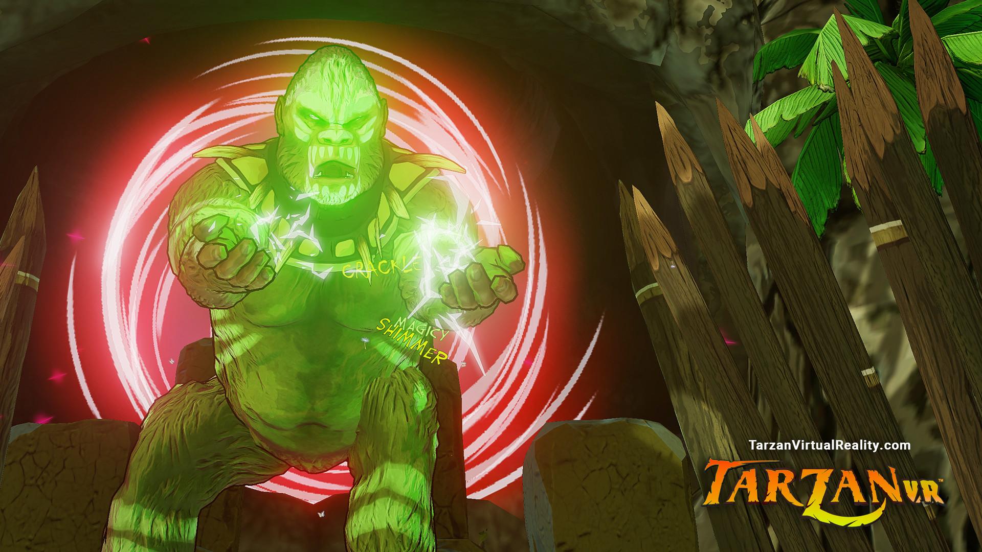 Gameplay-Trailer zu Tarzan VR