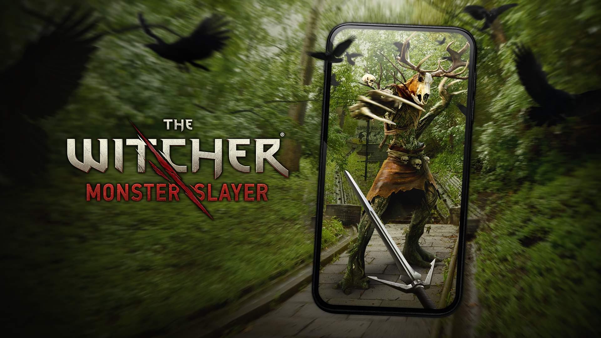 AR-Game The Witcher: Monster Slayer angekündigt