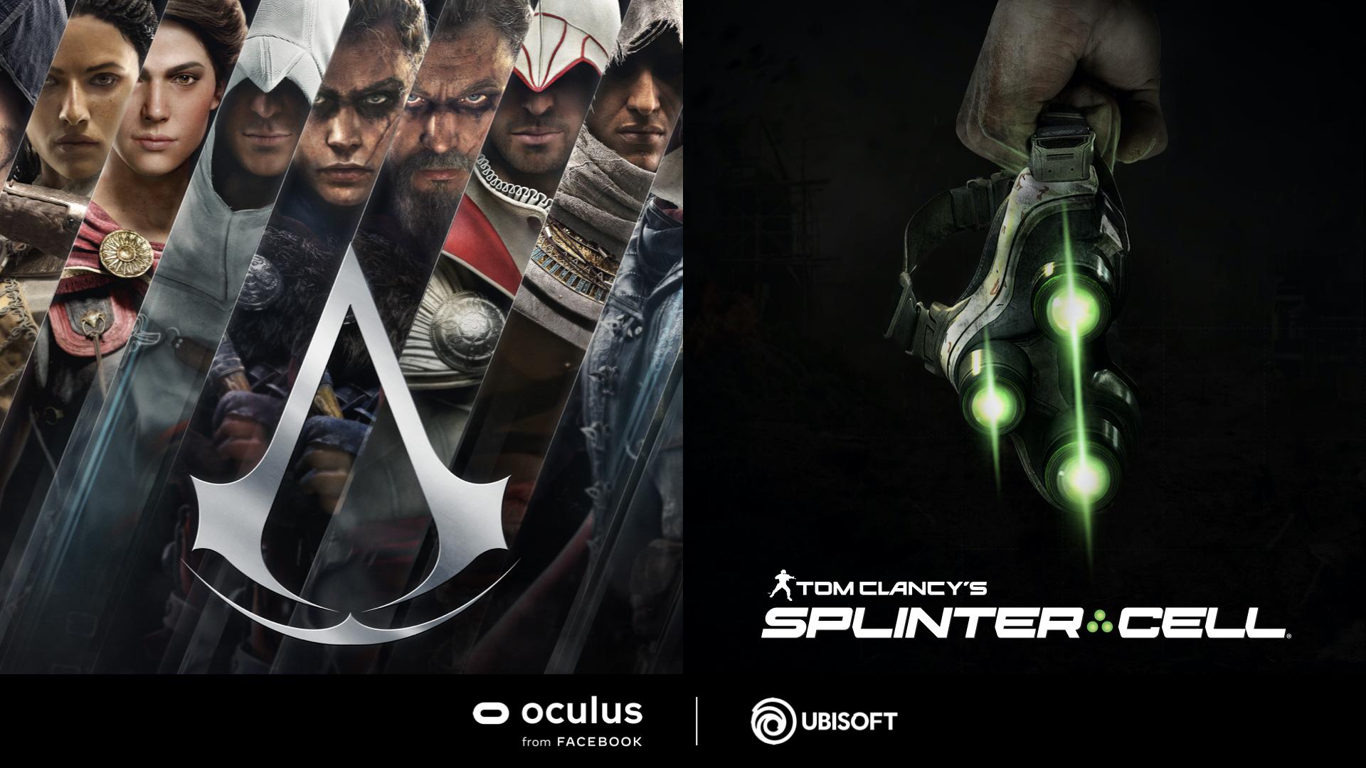 Ubisoft kündigt VR-Spiele an: Assassin's Creed & Splinter Cell