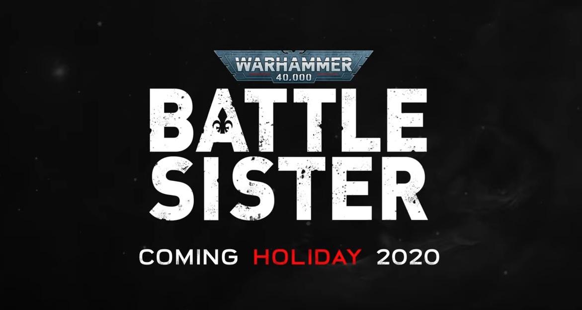 Warhammer 40.000 Battle Sister angekündigt
