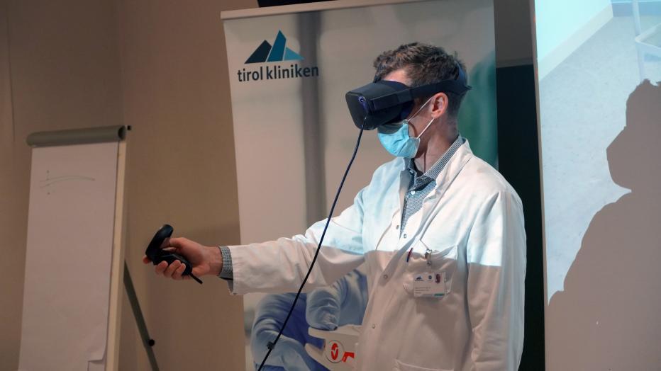 Tumoroperation mit VR