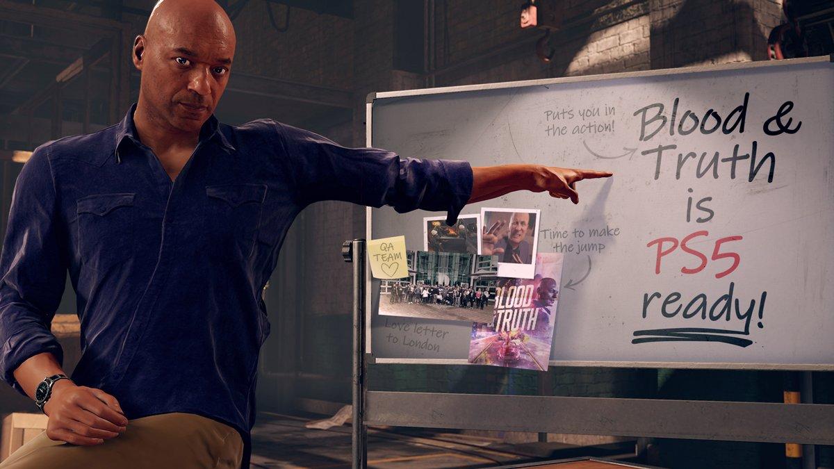 Blood & Truth wird für PS5 verbessert
