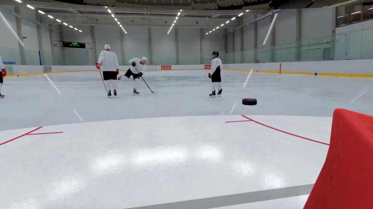 Hockey mit VR