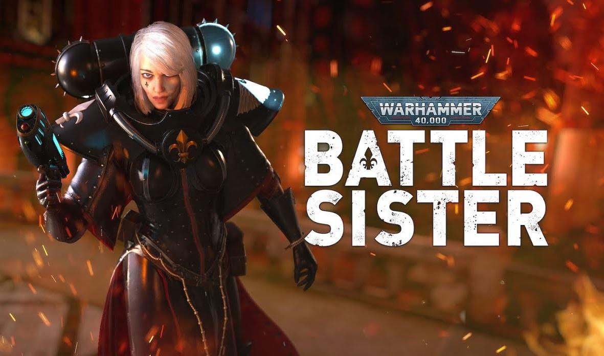 Warhammer 40.000 Battle Sister erschienen