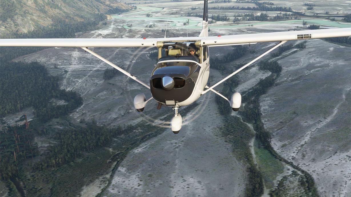 Microsoft Flight Simulator im Dezember mit VR-Support