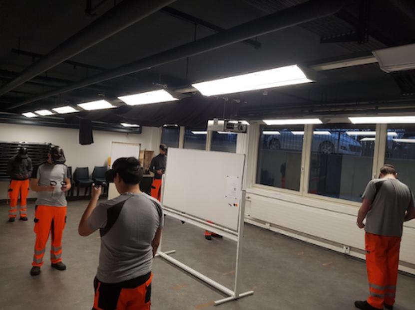 VR Training SBB