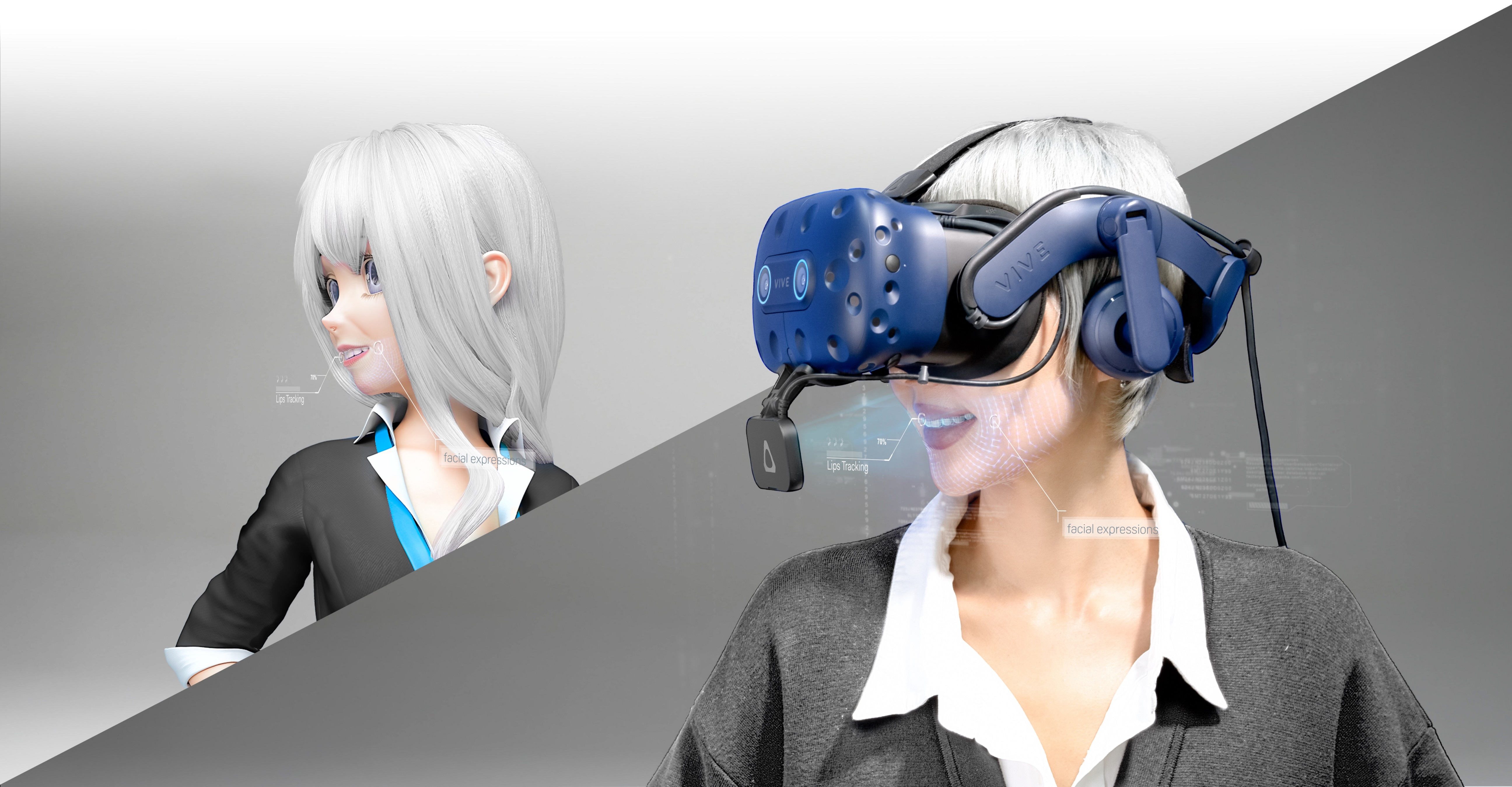 HTC bringt Vive Facial Tracker