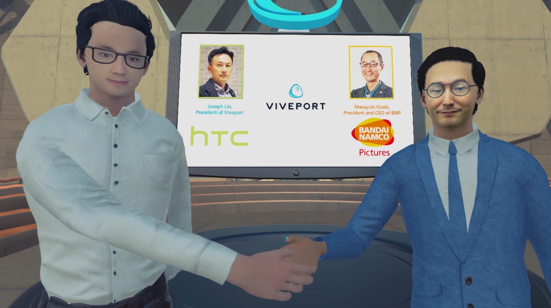 VR-Animes von Bandai Namco