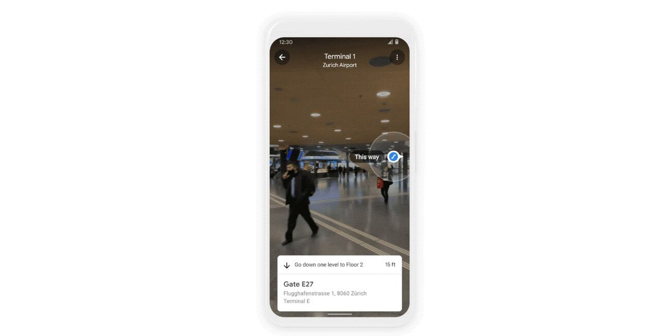 Google Flughafen Zürich