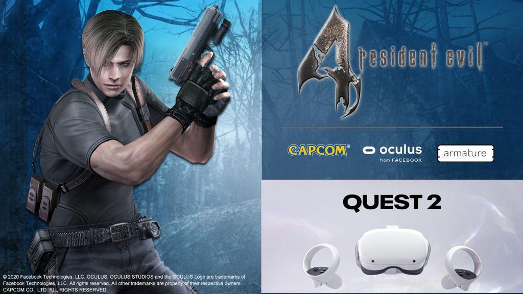 Resident Evil 4 VR nur für Oculus Quest 2