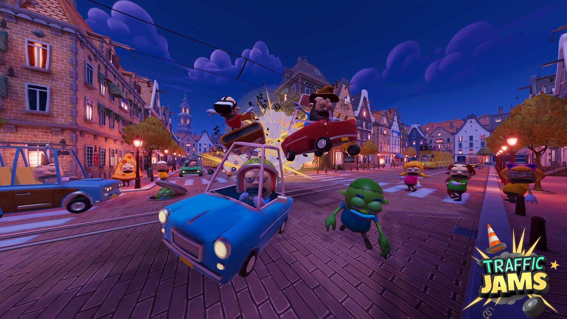 Chaotische VR-Simulation Traffic Jams verfügbar