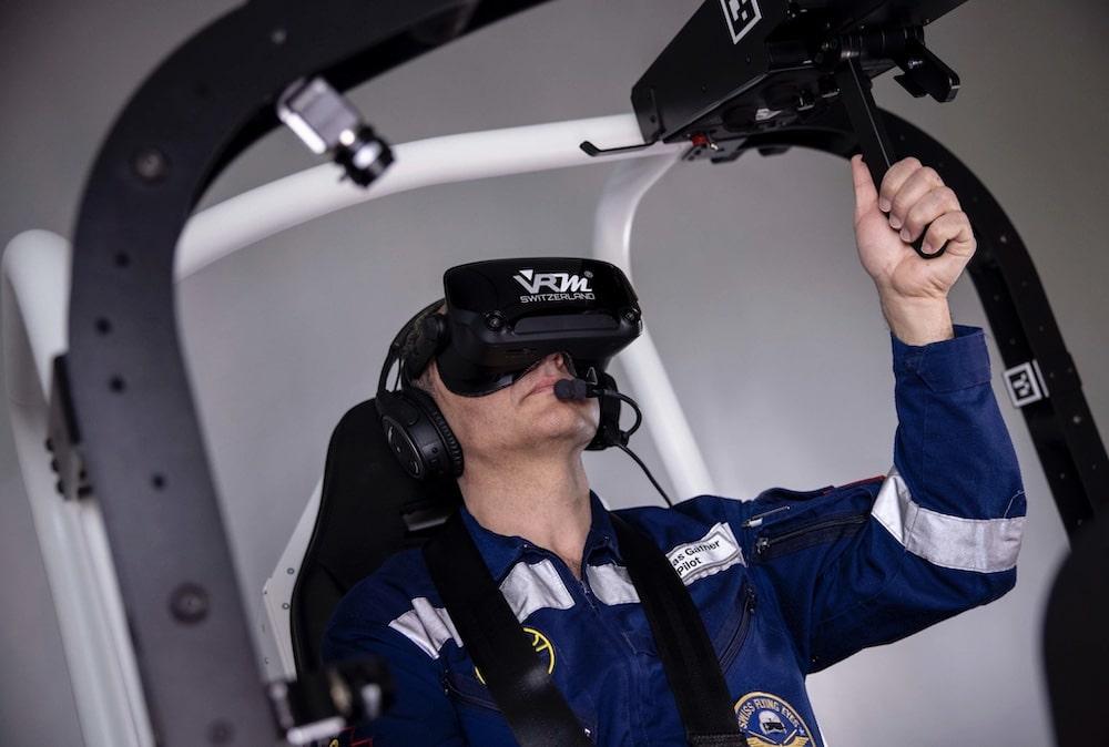 VR Flugtraining