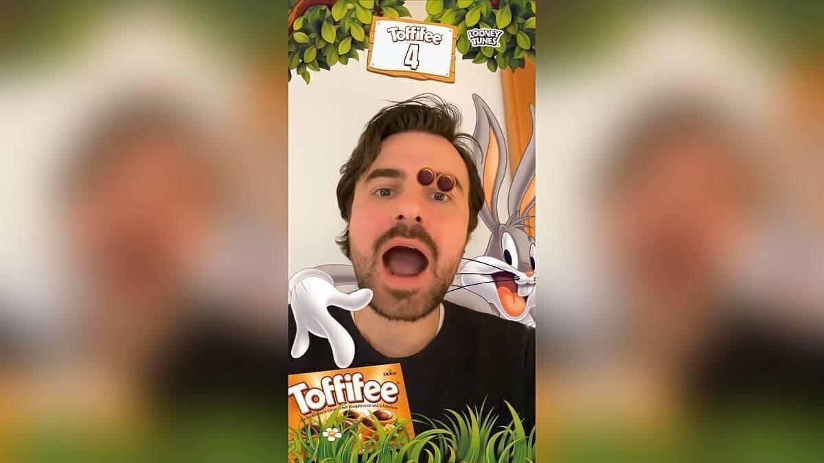 Snapchat Toffifee