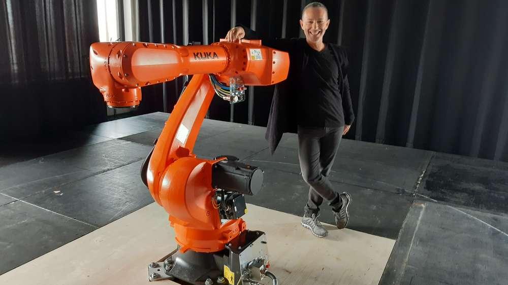 VR Ballett mit Roboter