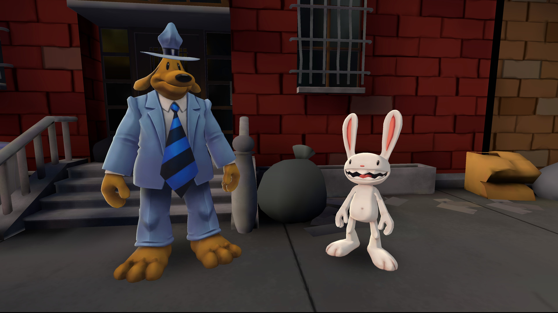 Sam & Max: This Time It's Virtual im Juli für Quest