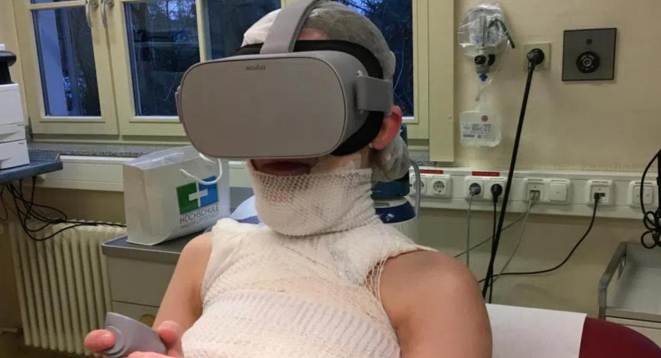 VR Verbrennungen Behandlung